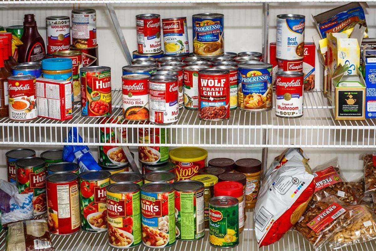 Foodbank, copyright Queens's Gazette