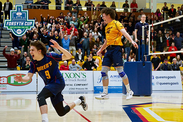 [The Queen's Gaels men's volleyball team]