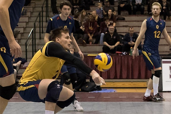 [Gaels Men's Volleyball]