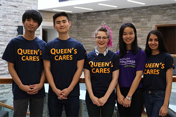 [Queen's Cares Alternative Reading Week]