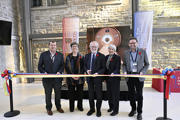[Ribbon cutting for Centre for Neuroscience Studies new MRI]