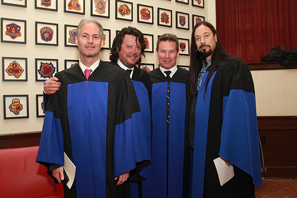 """The Tragically Hip receive their honorary degrees"""