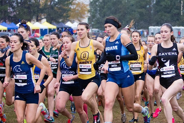 """USPORTS Women's Cross Country race 2017"""