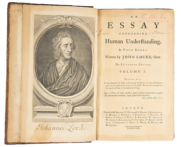 john locke essay book ii An essay concerning human understanding is a work by john locke concerning the foundation of human knowledge and understanding it first appeared in 1689 (although dated 1690) with the printed title an essay concerning humane understanding.