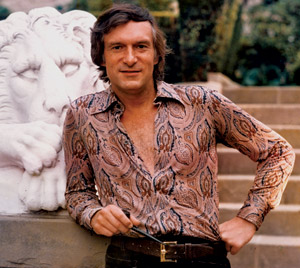 [photo of Hugh Hefner]