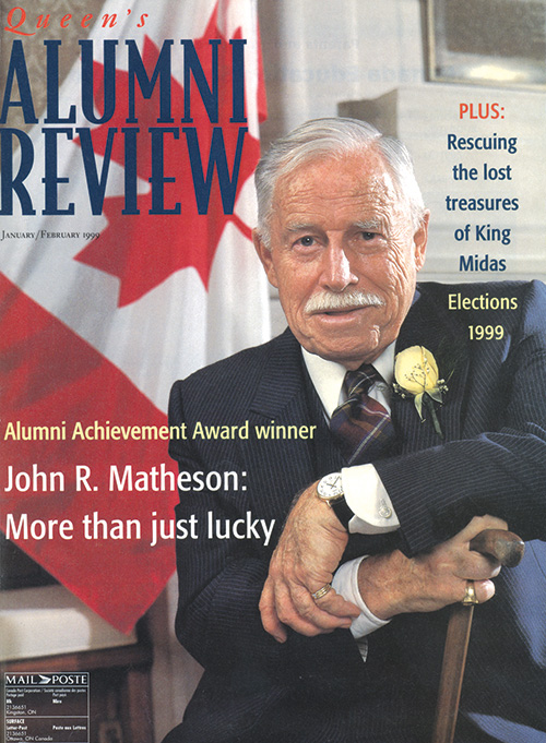 QAR cover with Matheson photo