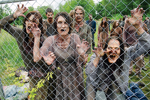 [photo of zombies from the TV show The Walking Dead]