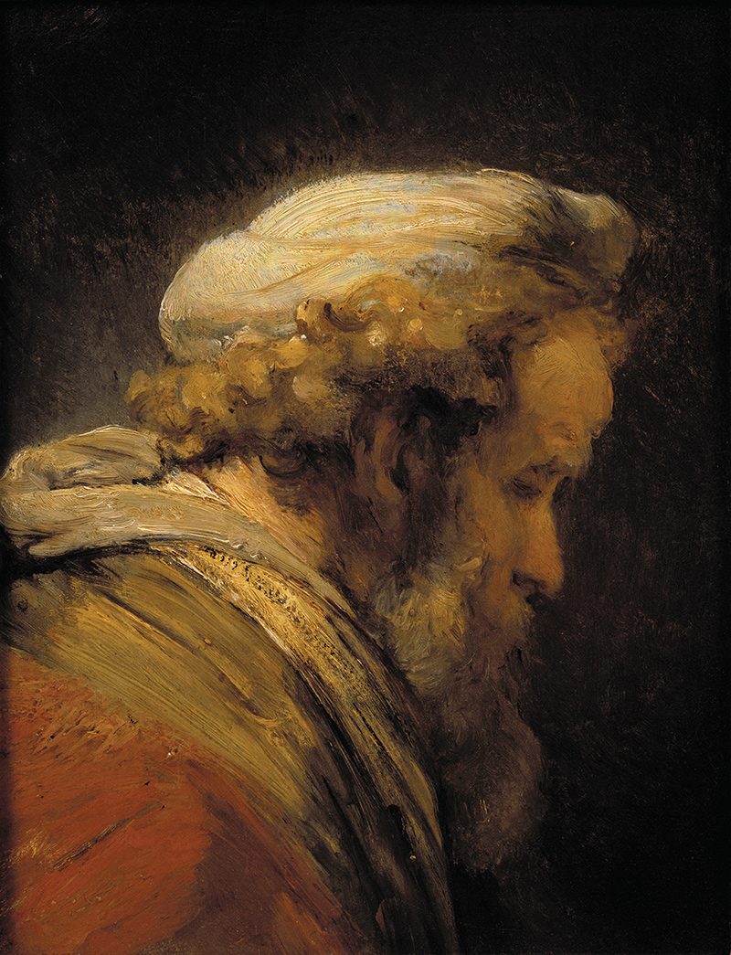 [Head of a Man in a Turban]