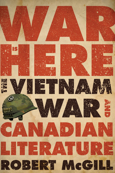 [cover graphic of War is Here by Robert McGill]