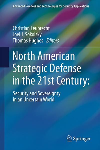 "[cover graphic of ""North American Strategic Defense in the 21st Century"""