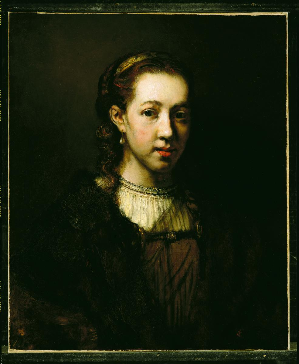 [image of Portrait of a Woman, possibly by Jacobus  Leveck]