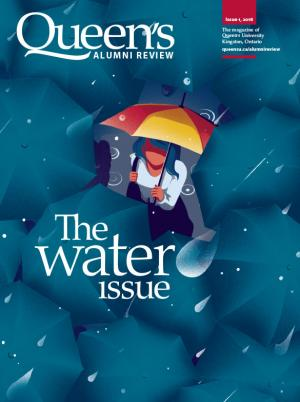 [cover image for water issue of Queen's Alumni Review]