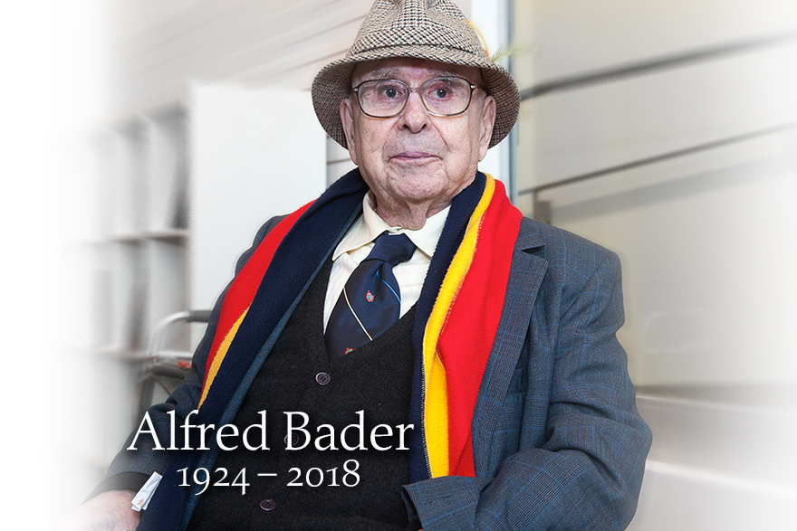 [photo of Alfred Bader 1924-2018]