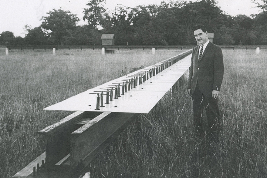 [photo of Professor G.A. Harrower]