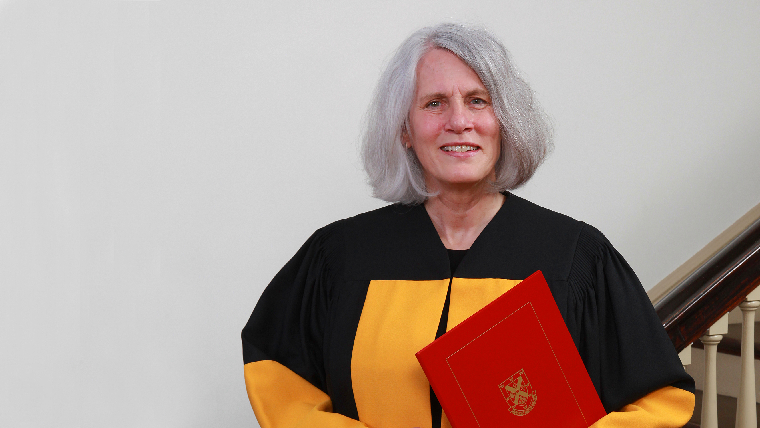 [photo of Kim Sturgess at Convocation 2016]