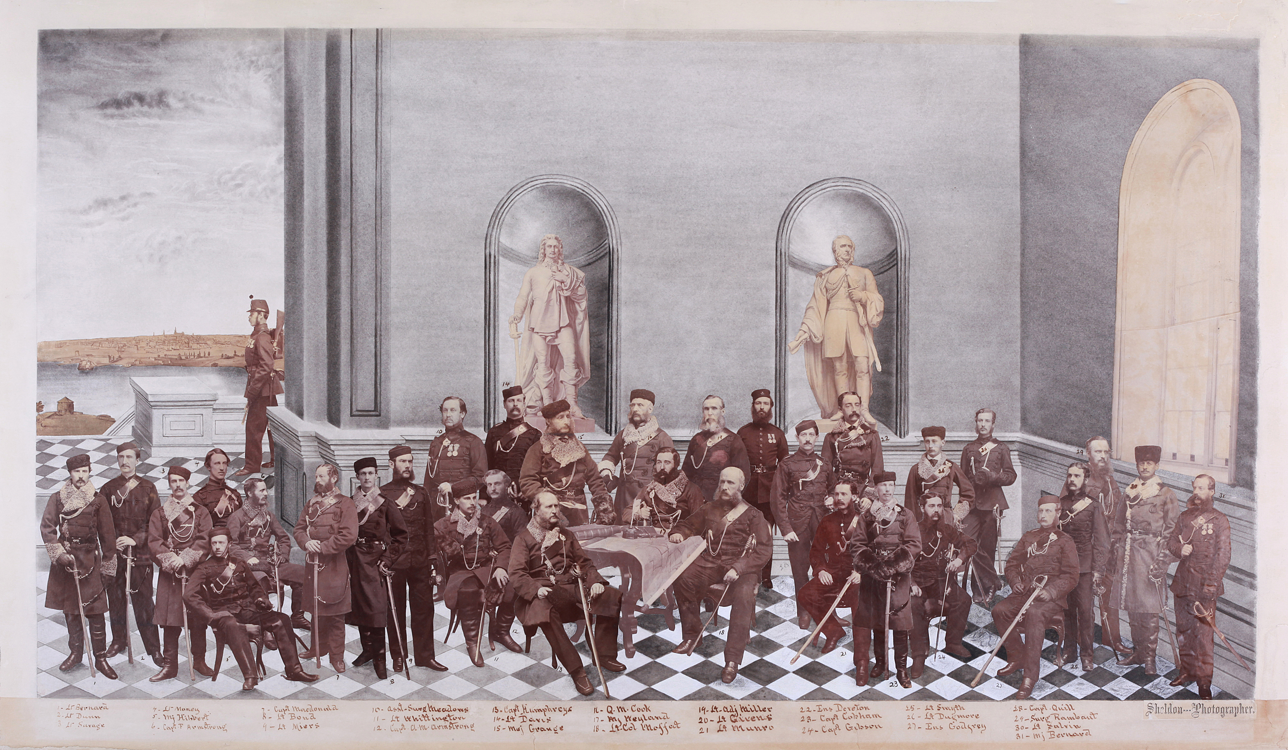 [a photo of the Royal Canadian Rifle Regiment ca. 1867]