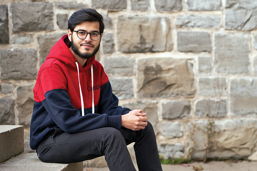 [photo of Sheikh Hamza Rizwan, MEng'20]
