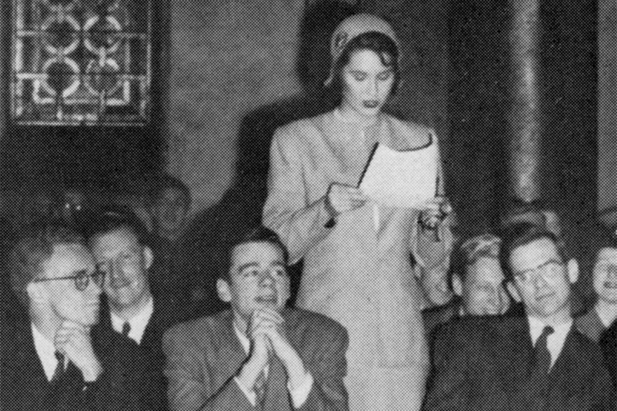 [Queen's Model Parliament participants in 1948]