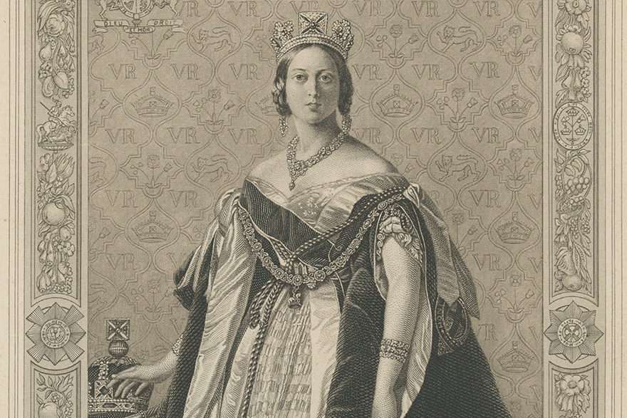 [illustration of Queen's Victoria]