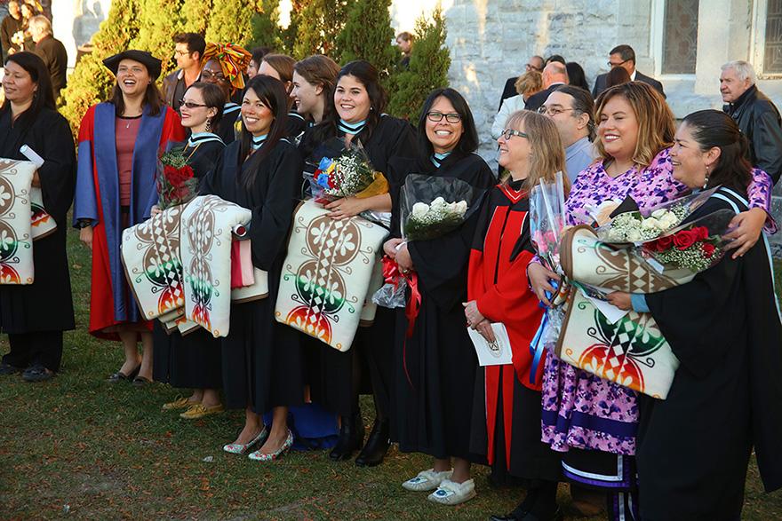 [students graduating]