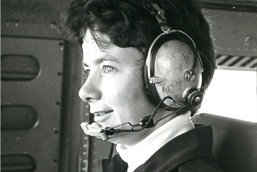[Photo of Susan Beharriell in 1982]