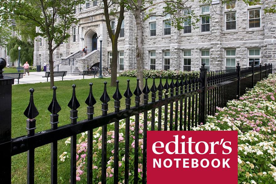 [Editor's Notebook]