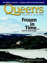 [Queen's Alumni Review 2009-2 cover]
