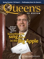 [Queen's Alumni Review 2009-3 cover]