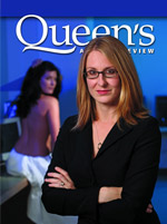 [Queen's Alumni Review 2009-4 cover]