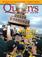 [Queen's Alumni Review 2010-1 cover]