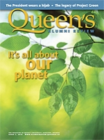 [Queen's Alumni Review 2010-2 cover]