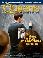 [Queen's Alumni Review 2010-3 cover]