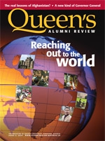 [Queen's Alumni Review 2010-4 cover]