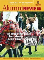 [Queen's Alumni Review 2011-4 cover]