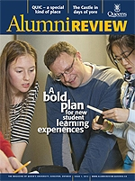 [Queen's Alumni Review 2012-1 cover]