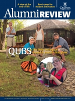 [Queen's Alumni Review 2013-3 cover]
