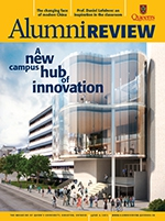 [Queen's Alumni Review 2013-4 cover]