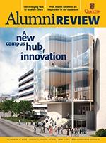 [Queen's Alumni Review 2013-4 cover]