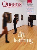 [Queen's Alumni Review 2014-2 cover]