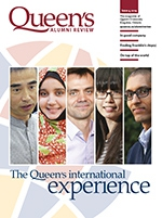 [Queen's Alumni Review 2014 issue 4 cover]