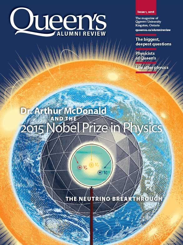 thumbnail: Alumni Review cover