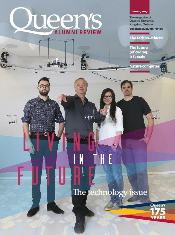 [cover of Queen's Alumni Review, Issue 2, 2017]