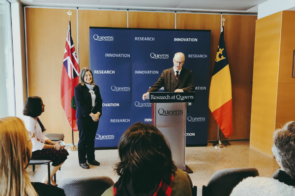 Provincial funding to strengthen Queen's research teams