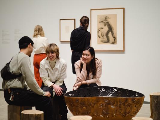 [Agnes Etherington Art Centre winter season launch]