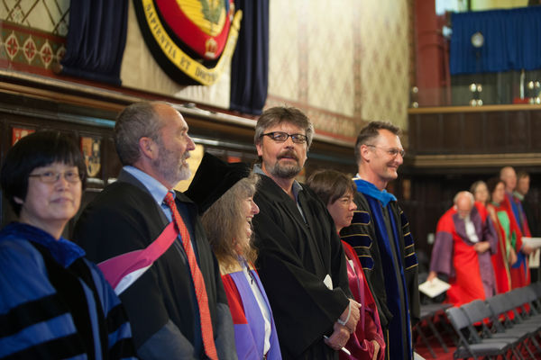 Faculty play special role in convocation