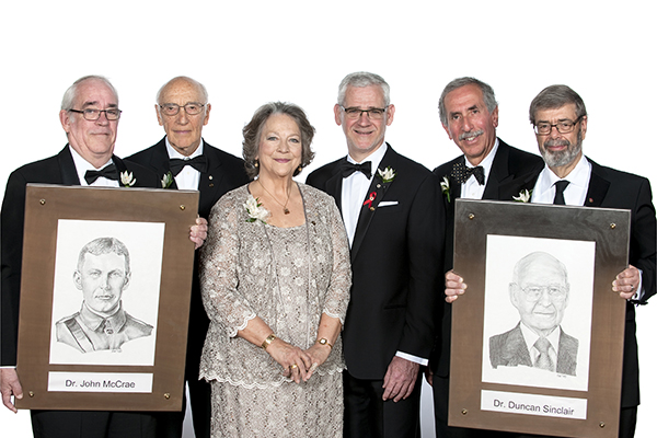 Duncan Sinclair enters Canadian Medical Hall of Fame