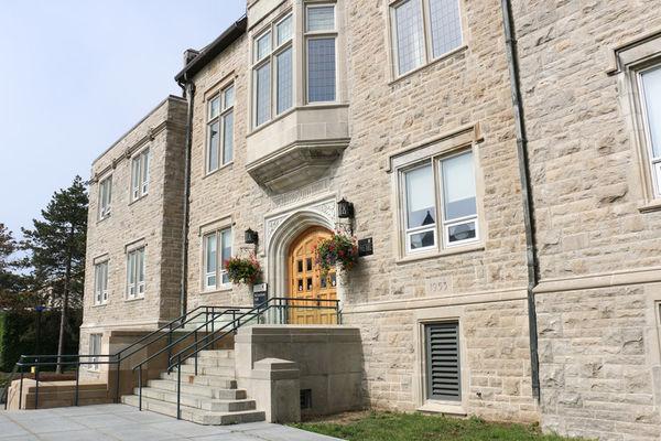 [Photo of Richardson Hall]