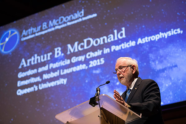 [Dr. Art McDonald]