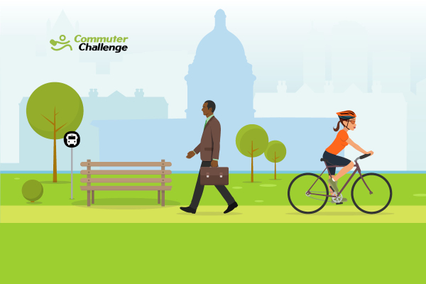 Queen's competes in Commuter Challenge