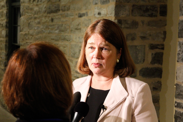 [Health Minister Jane Philpott]